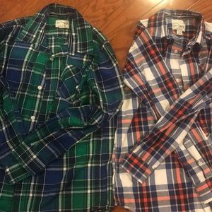 Children's Place. Futon down shirts